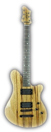 Exotic Hardwood Guitar